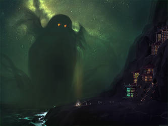 The Nearest Shore to R'lyeh by ghostfire