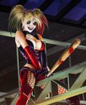 Harley Quinn - Bat ''Man'' Detail