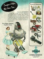 Atomic Ads - SOVEREIGN D.A.N.A. Maid