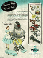 Atomic Ads - SOVEREIGN D.A.N.A. Maid by ghostfire