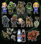 Fallout Chibi Set