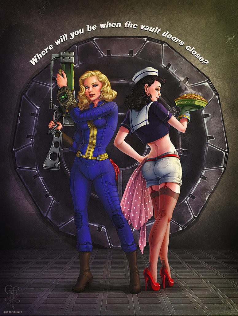 Vault Girl by persocon93 on DeviantArt | Fallout | Pinterest ...