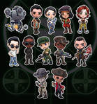 Companions of the Commonwealth - Fallout 4 Chibis