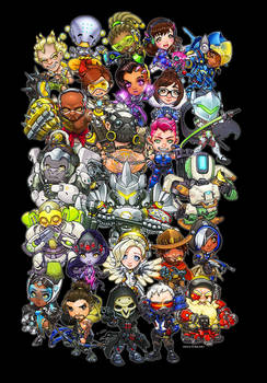 Overwatch : Overly Watchful Heroes