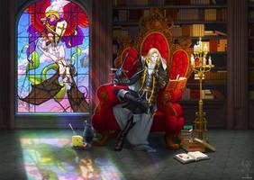 Castlevania Alucard - Respite from Endless Days