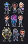Mass Effect Andromeda - Chibi Set