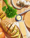 Still Life with Garlicoin