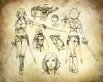 Aasimar Swashbuckler Rogue Character Sheet
