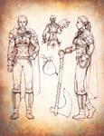 Goliath Barbarian Character Sheet