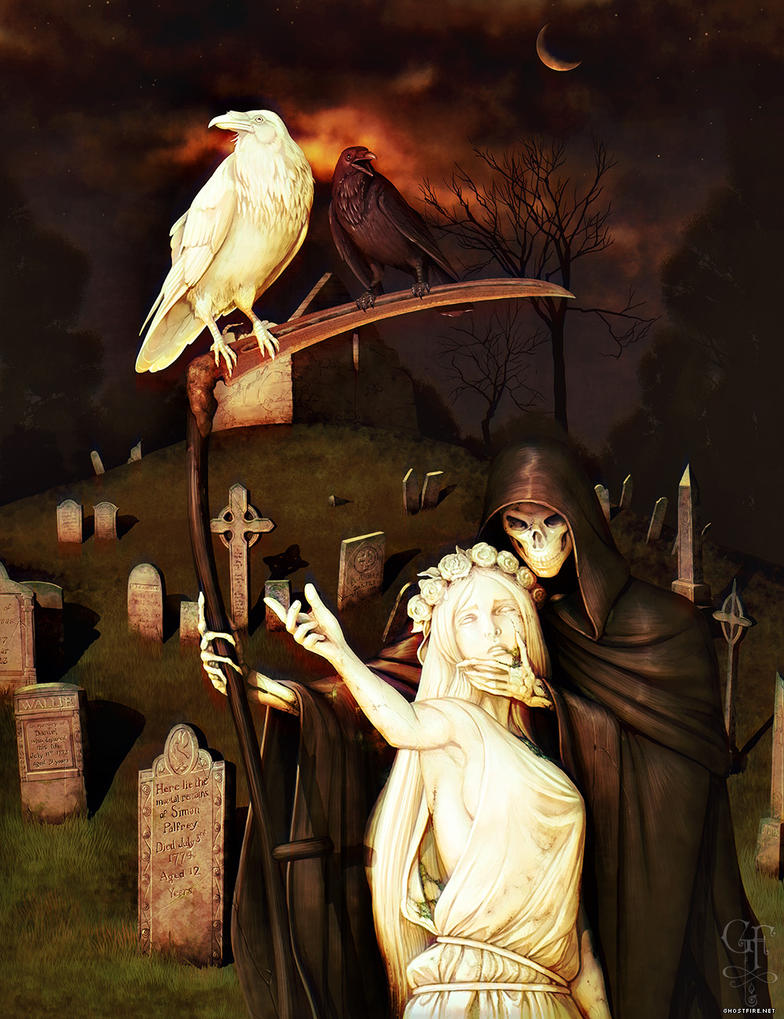 Ravens' Grave by ghostfire