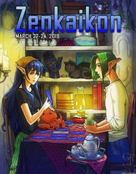 Zenkaikon 2019 Program Guide Cover
