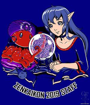 Zenkaikon 2019 Staff Shirt