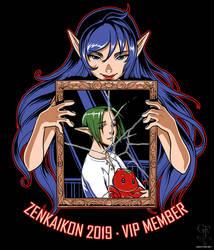 Zenkaikon 2019 VIP Shirt