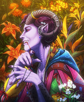 Critical Role: Mollymauk Tealeaf - 'Forget-Me-Not'