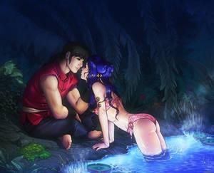 Steamy Night - Ranma and Shampoo