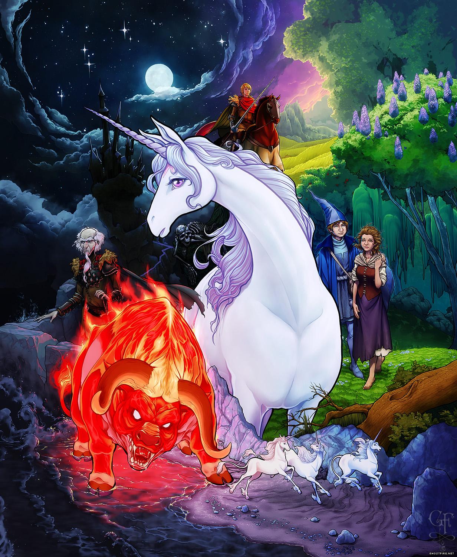 When Men Are Fairy Tales - The Last Unicorn