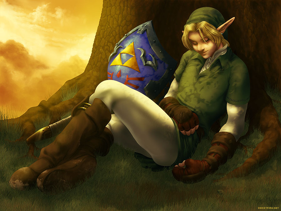 Sleepy Link - Redux by ghostfire