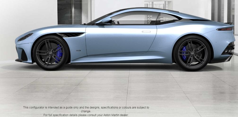 Aston Martin Dbs Superleggera Frosted Glass Blue By Madmademannamedmann On Deviantart