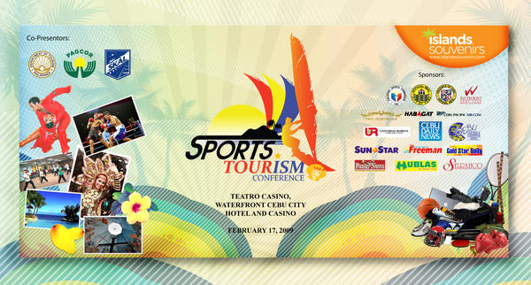 Sports Tourism 2009 backdrop by BERTSZKIEBOI1327