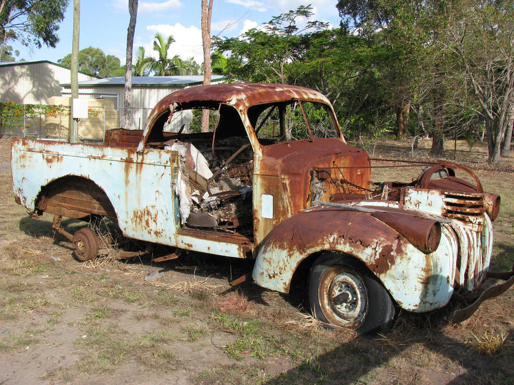 Classic Cars Rust Patina