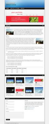 Carbon One Page Portfolio v2
