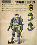 Allied Kingdom - Minor Characters: Cpt. Miles by Theakker5