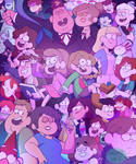 Gravity Falls Next Gen AU - Poster by TurquoiseGirl35