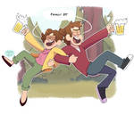 Finally 21! Happy Birthday Dipper and Mabel