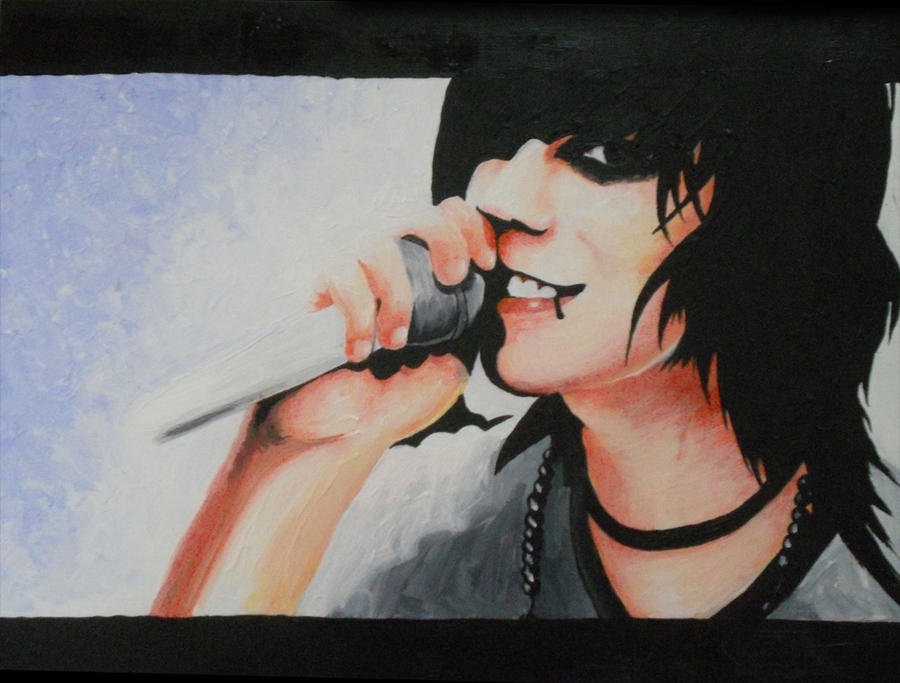 Knives and Pens Painting by Moth-Eaten-Heart