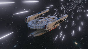 LEGO USS Grissom NCC-638 2 [Star Trek Discovery]