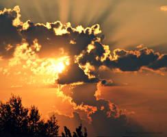summer sunset... by Reborn5