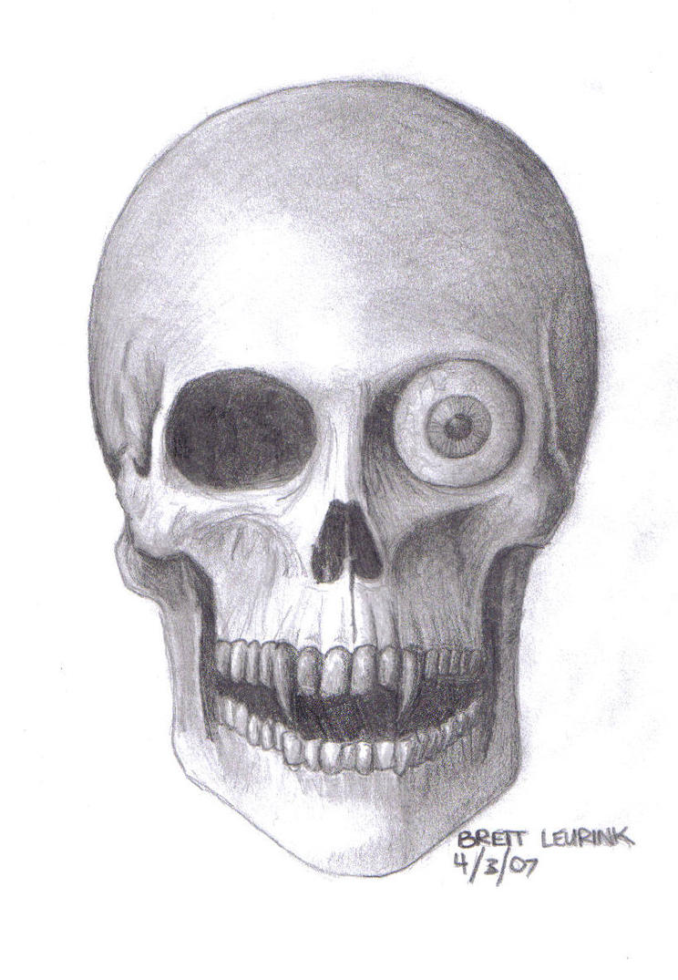 It's just a graphic of Crazy Vampire Skull Drawing