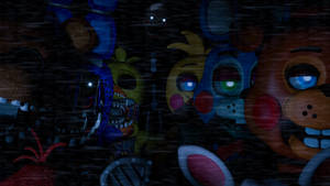 FNAF 2 poster -Withered and Toys- *UPDATE*