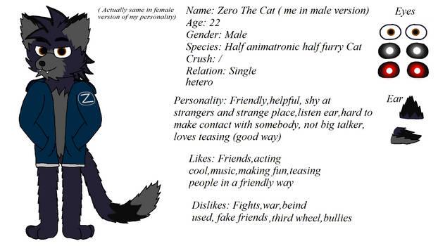 Zero male cat