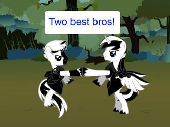 Two Best Bros by BldySkylz