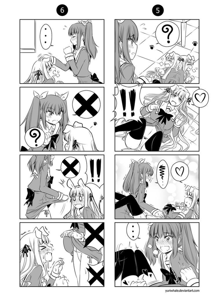 Pillow Talker Yuuna x Nanami 003 by Yuriwhale