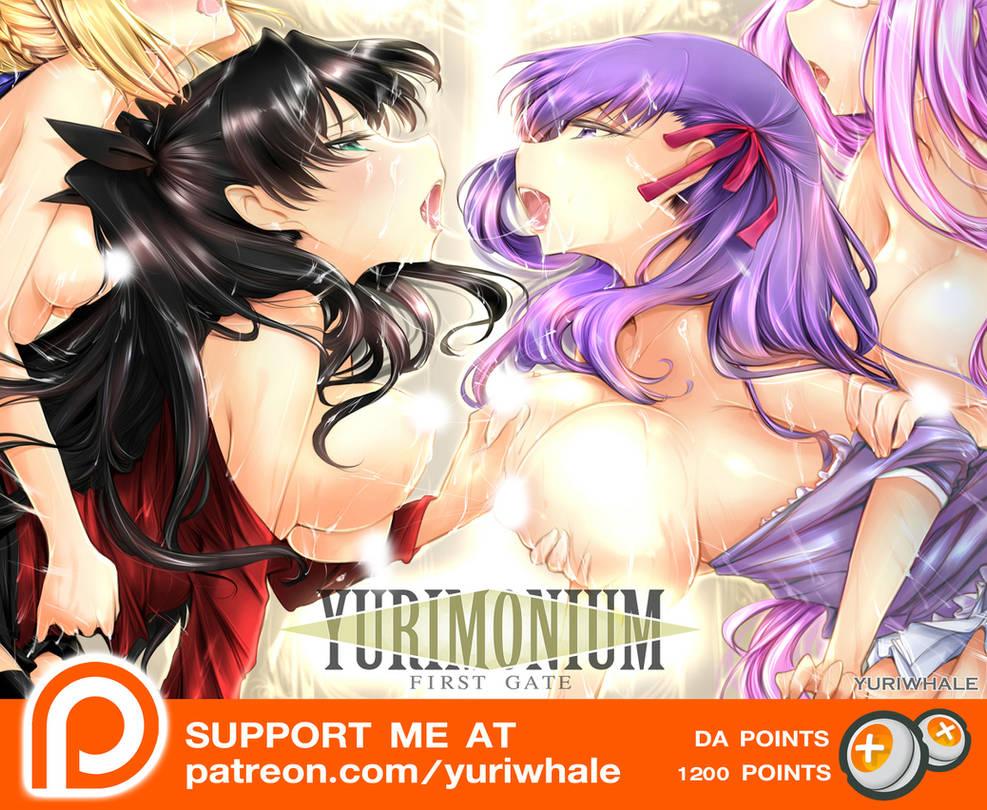 Yurimonium First Gate(Fate Yuri NSFW Doujin)