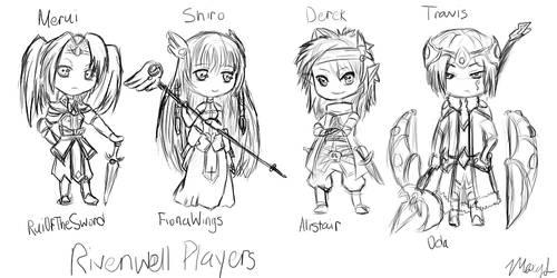 RE: Alistair Players by Kikoia