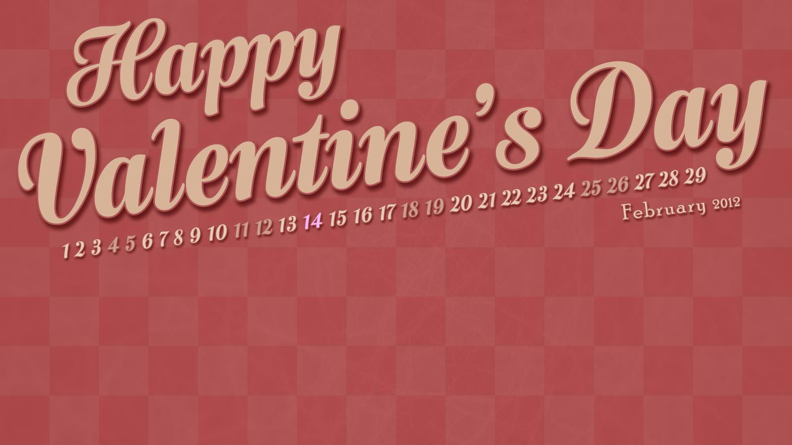 February 2012 Wallpaper Calendar by MetalFrog