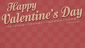 February 2012 Wallpaper Calendar
