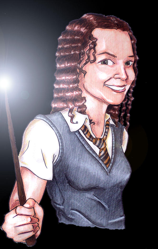 Katie as a Hufflepuff by Mason44