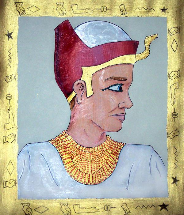 Egyptian Portrait by Mason44