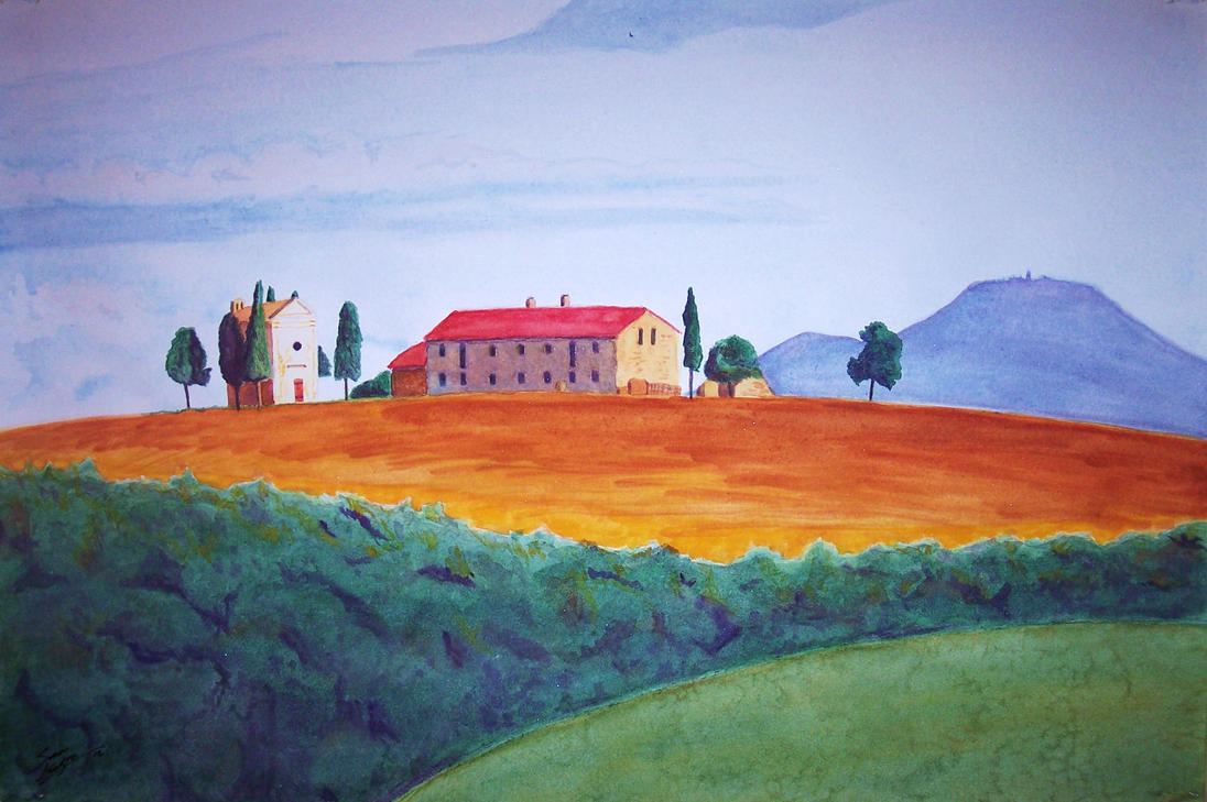 Italian Landscape by Mason44