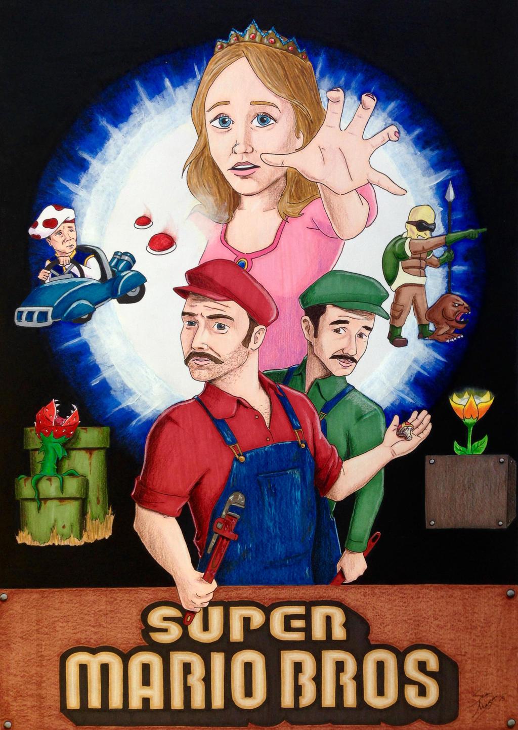 Super Mario Brothers by Mason44