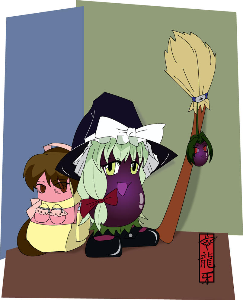 Comm - Eggplant Witch Color by Dragon-FangX on DeviantArt