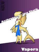 Anthropomorphic Shark - Vapora by Dragon-FangX