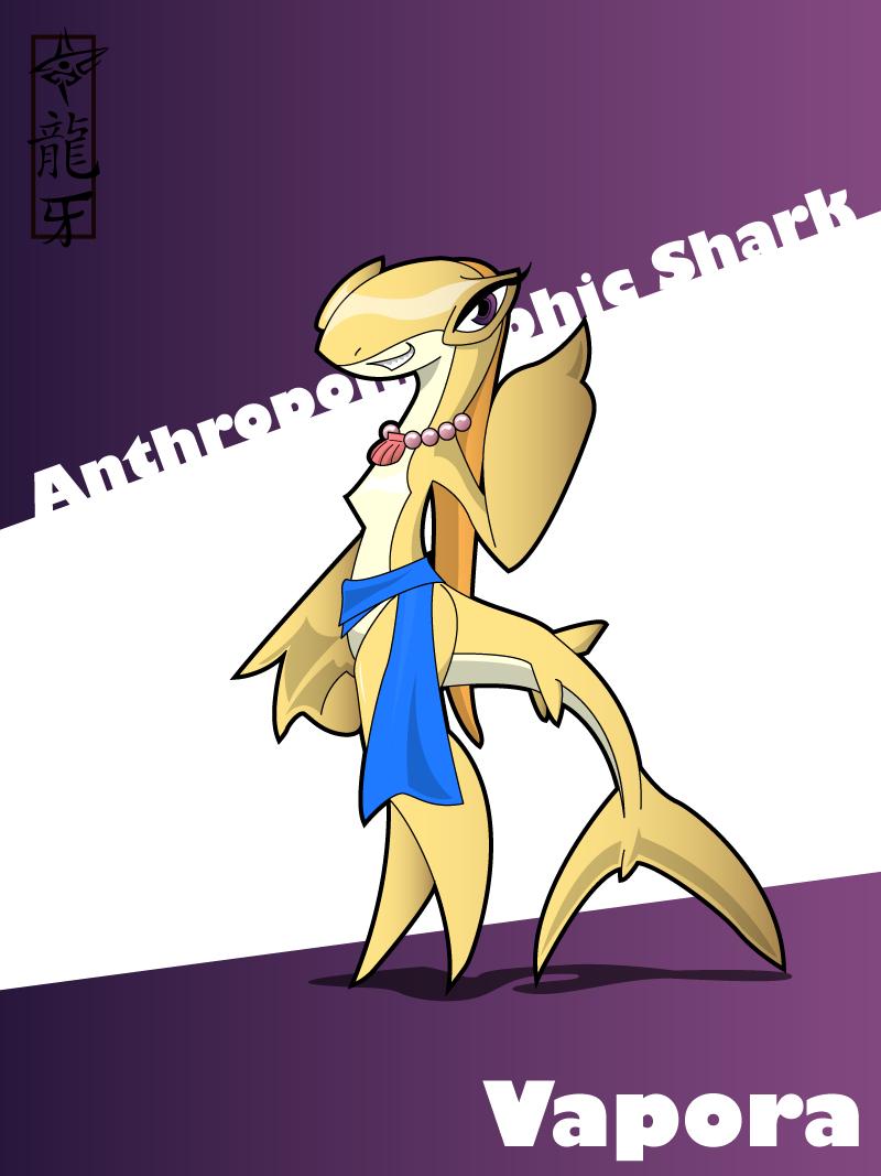 Anthropomorphic Shark - Vapora