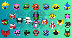 Familiar Faces - Rider:Sentai