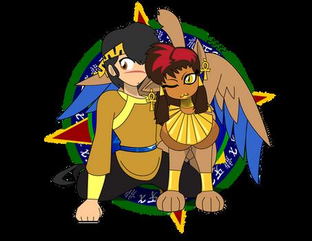 Sphinx Cuddle