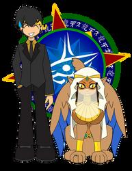 Sphinx Wedding by Dragon-FangX